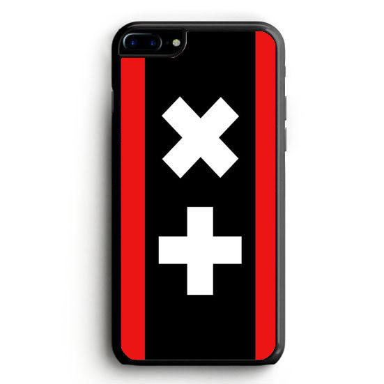Marin Garrix Logo Red Black Background iPhone 7 | yukitacase.com