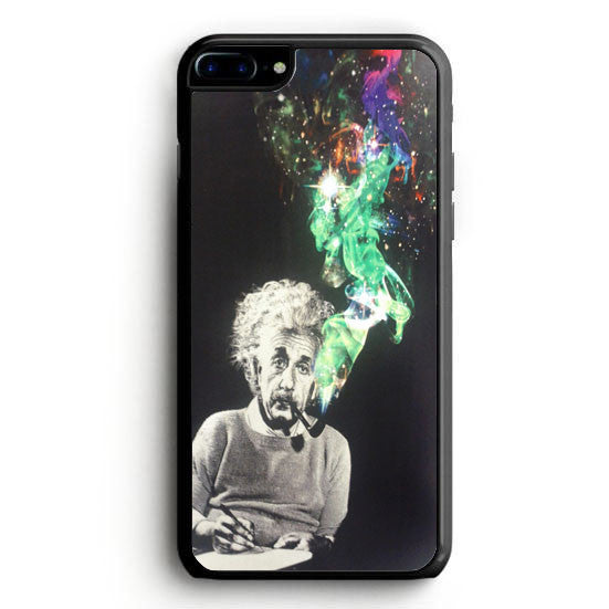 Albert Einstein Smoking iPhone 7 Case | yukitacase.com
