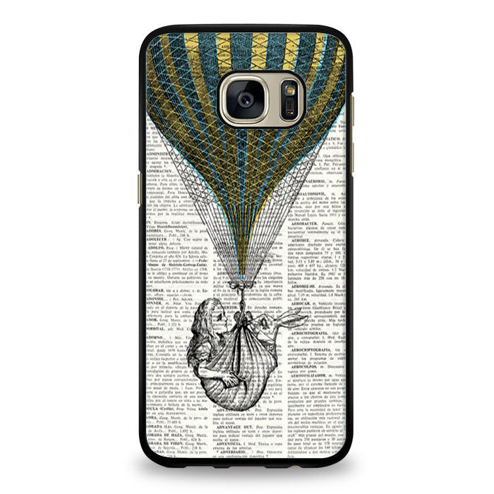 Alice in wonderland were all mad here Samsung Galaxy S7 Case | yukitacase.com