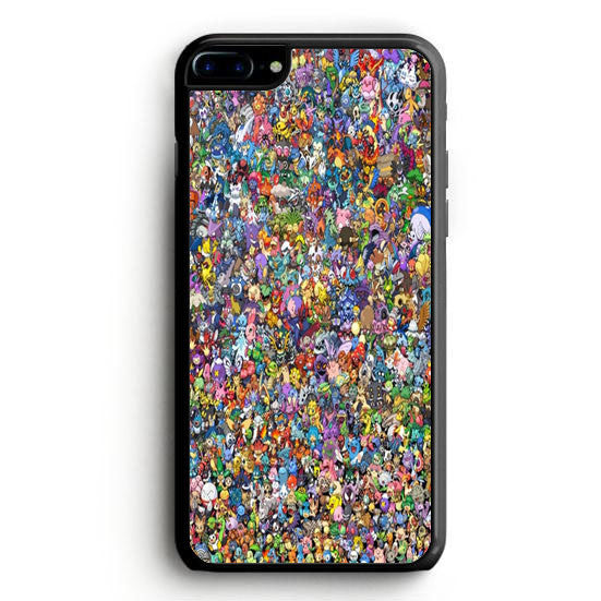 All Pokemon Characters iPhone 7 Case | yukitacase.com