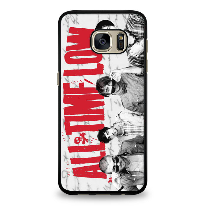 All Time Low (1) Samsung Galaxy S7 Edge Case | yukitacase.com