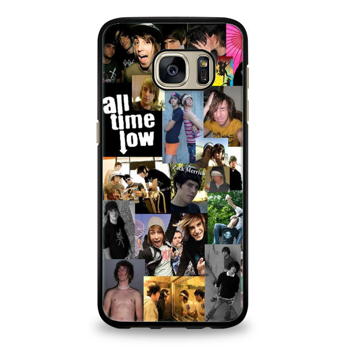All Time Low Collage Samsung Galaxy S6 Edge Case | yukitacase.com