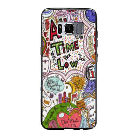 All Time Low Quote Samsung Galaxy S8 Case | yukitacase.com