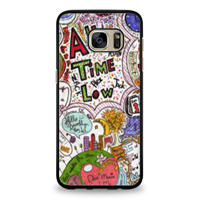 All Time Low Quote Samsung Galaxy S6 Edge Case | yukitacase.com