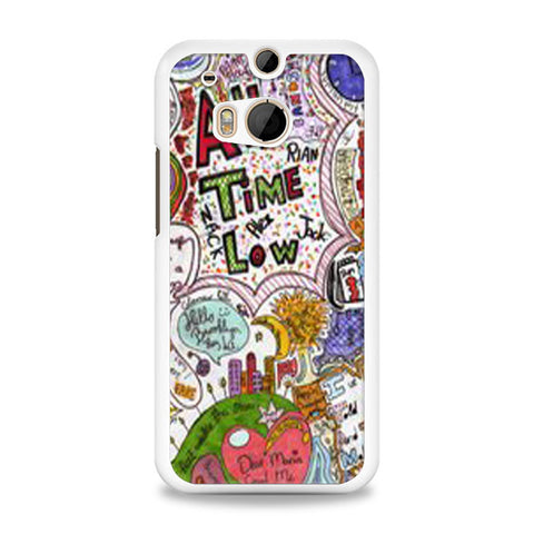 All Time Low Quote HTC One M8 Case | yukitacase.com