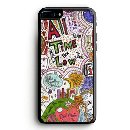 All Time Low Quote iPhone 7 Case | yukitacase.com