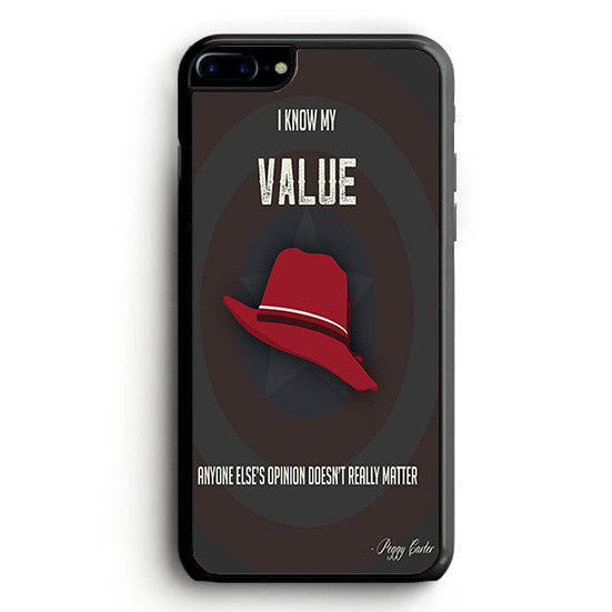 Marvel's Agent Carter I Know My Value Peggy iPhone 6S Plus | yukitacase.com