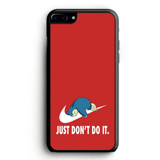 Pokemon's Snorlax is a Nike logo with a parody of Nike's slogan Don't do it iPhone 7 Plus | yukitacase.com