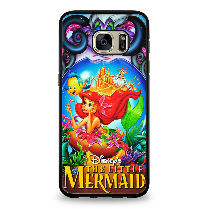 Ariel The little mermaid Samsung Galaxy S6 Edge Case | yukitacase.com