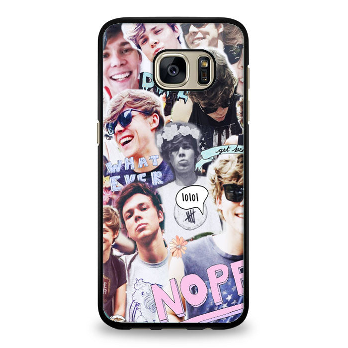 Ashton irwin Samsung Galaxy S6 Edge Plus Case | yukitacase.com