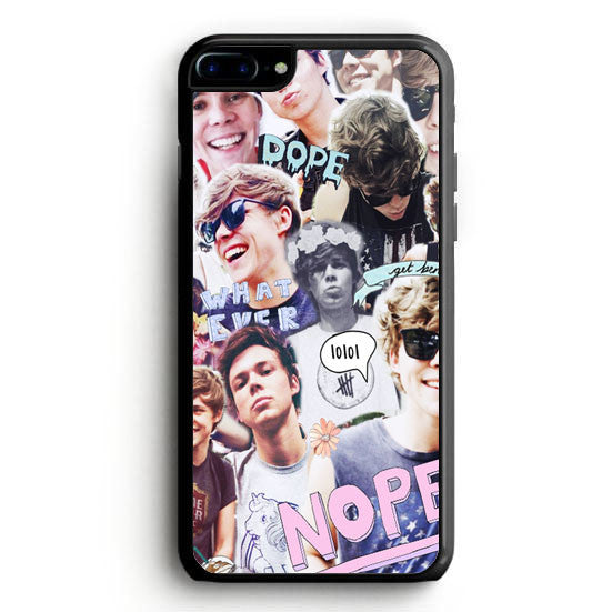 Ashton irwin iPhone 7 Case | yukitacase.com