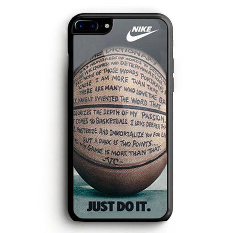 Nike Basketball Just Do It And Passion iPhone 6 Case | yukitacase.com