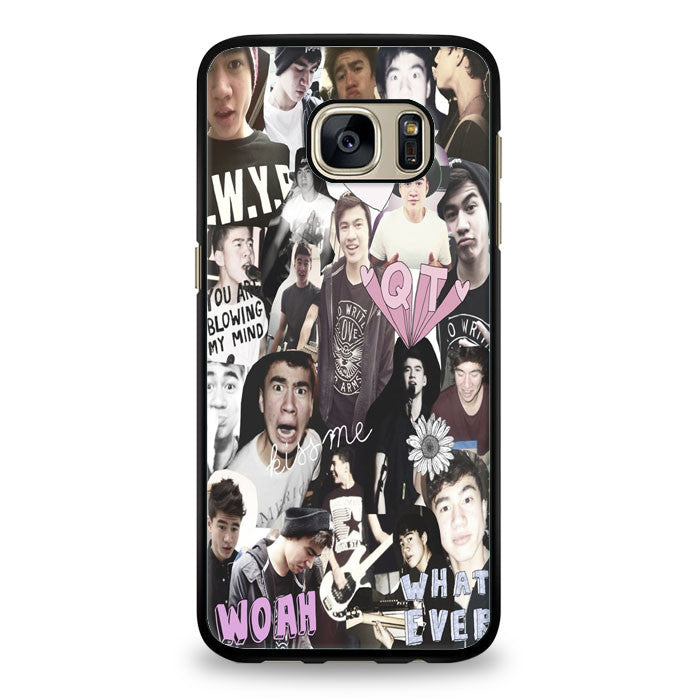 Ashton Irwin 5 SOS collage Samsung Galaxy S6 Edge Case | yukitacase.com