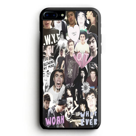 Ashton Irwin 5 SOS collage iPhone 6 Plus Case | yukitacase.com
