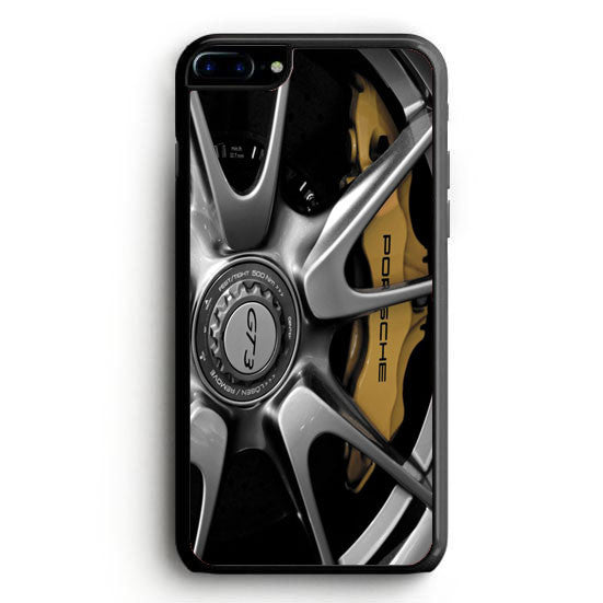 Porsche Black Wheel iPhone 6S Plus | yukitacase.com