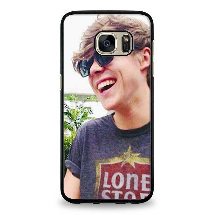 Ashton Irwin Signature 5Sos Samsung Galaxy S6 Edge Plus Case | yukitacase.com