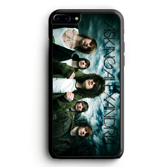 Asking Alexandria design iPhone 7 Case | yukitacase.com