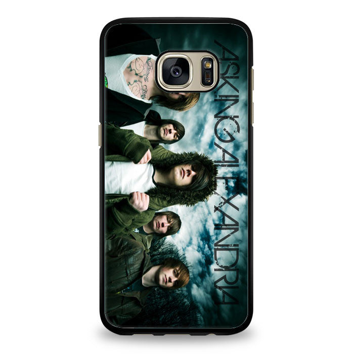 Asking Alexandria design Samsung Galaxy S6 Edge Case | yukitacase.com