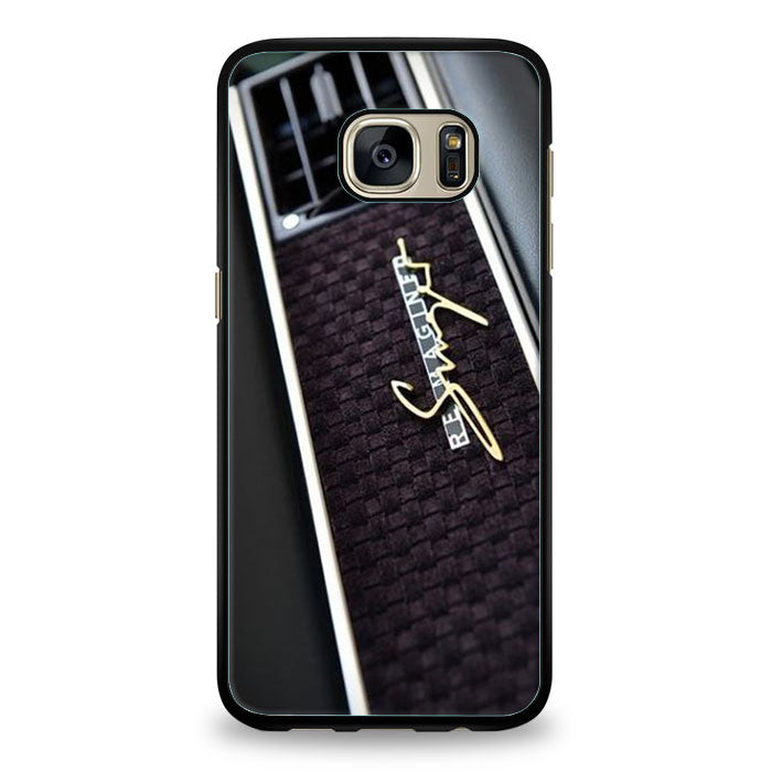 Porsche Cars Logo On Rain Red Samsung Galaxy S6 Edge Plus | yukitacase.com