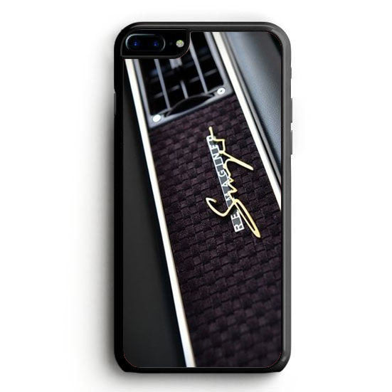 Porsche Cars Logo On Rain Red iPhone 6 Plus | yukitacase.com