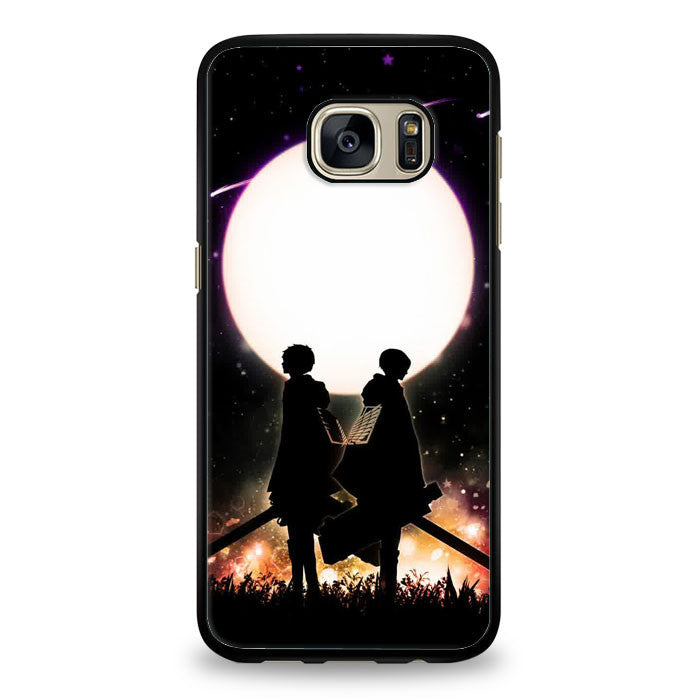 attack on titan scouting legion Samsung Galaxy S6 Edge Plus Case | yukitacase.com