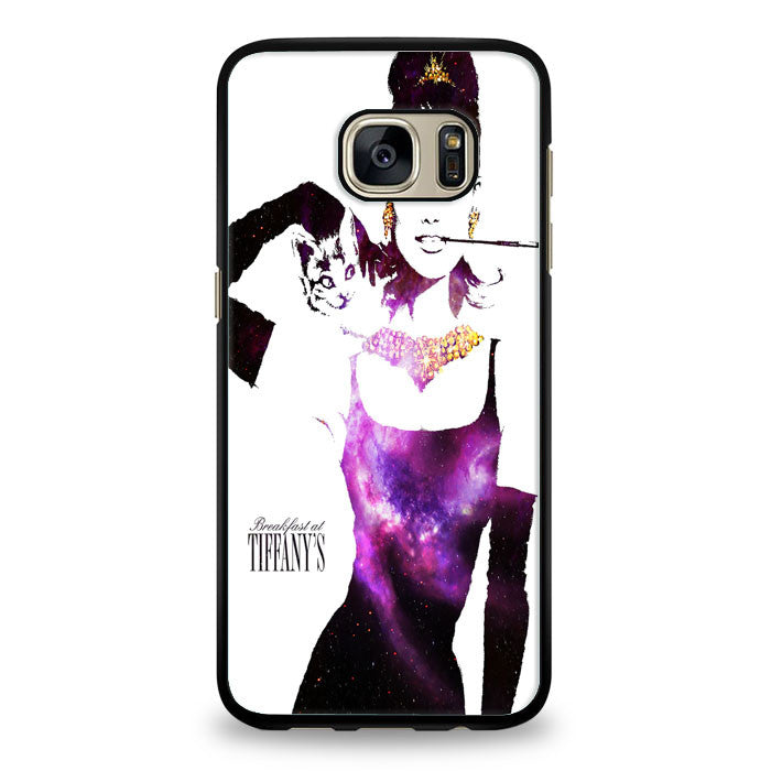 audrey hepburn breakfast at tiffany Samsung Galaxy S7 Edge Case | yukitacase.com