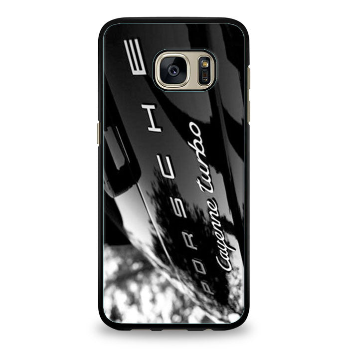 Porsche Cayenne Turbo Black Samsung Galaxy S6 Edge Plus | yukitacase.com