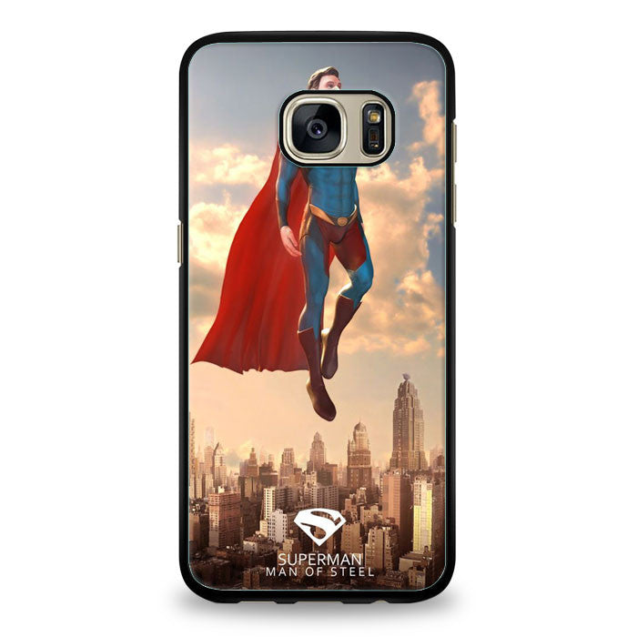 Superman Man of Steel Samsung Galaxy S7 Edge | yukitacase.com
