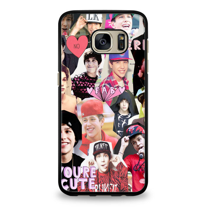 Austin Mahone collage Samsung Galaxy S6 Edge Case | yukitacase.com