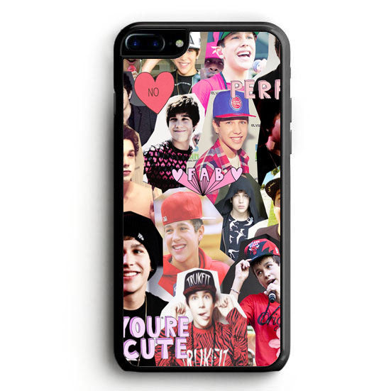 Austin Mahone collage iPhone 7 Plus Case | yukitacase.com