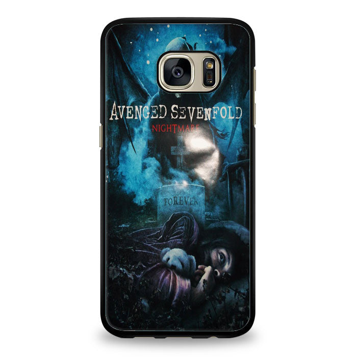 Avenged Sevenfold Nightmare most wanted Samsung Galaxy S6 Edge Case | yukitacase.com