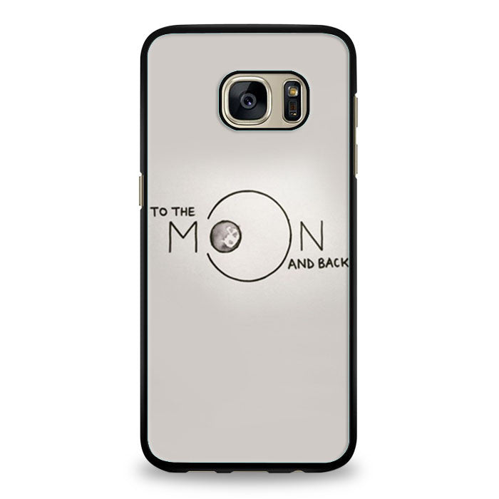 To The Moon and Back Samsung Galaxy S6 Edge | yukitacase.com