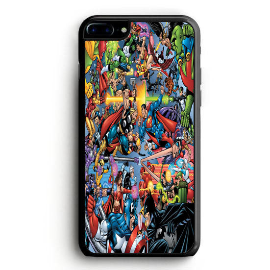 Avengers Vs Justice League iPhone 7 Plus Case | yukitacase.com