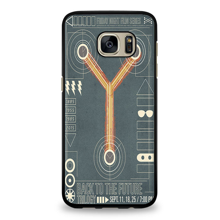 Back To The Future flux Samsung Galaxy S6 Case | yukitacase.com