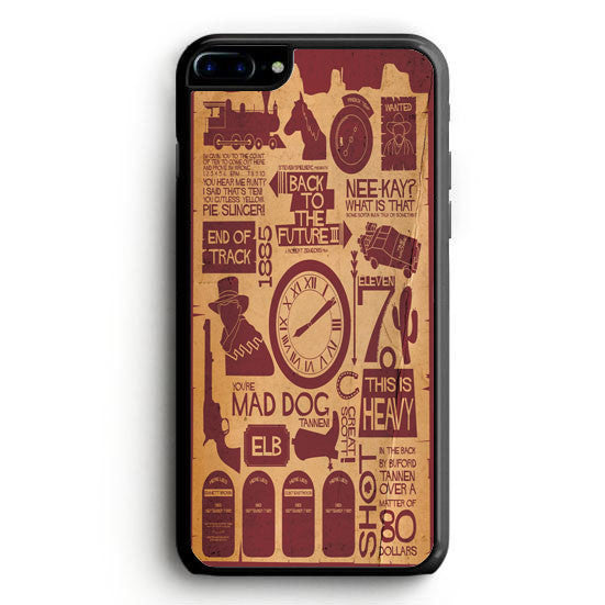 Back To The Future items iPhone 7 Plus Case | yukitacase.com