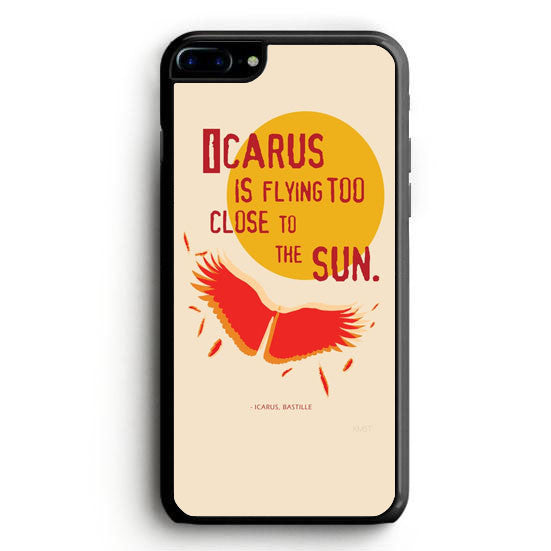 Bastille Lyric Flaws iPhone 7 Plus Case | yukitacase.com