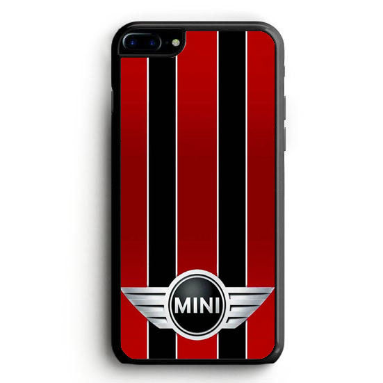 Red and Black Mini Cooper iPhone 7 Plus | yukitacase.com