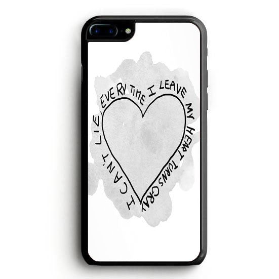 Simple Plan I Can Wait Forever Lyrics iPhone 7 Plus | yukitacase.com
