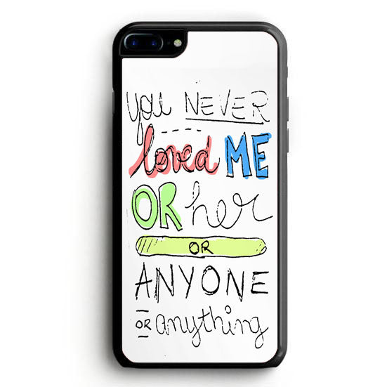 Taylor Swift I Knew You Were Trouble Lyrics Samsung Galaxy S7 Edge | yukitacase.com