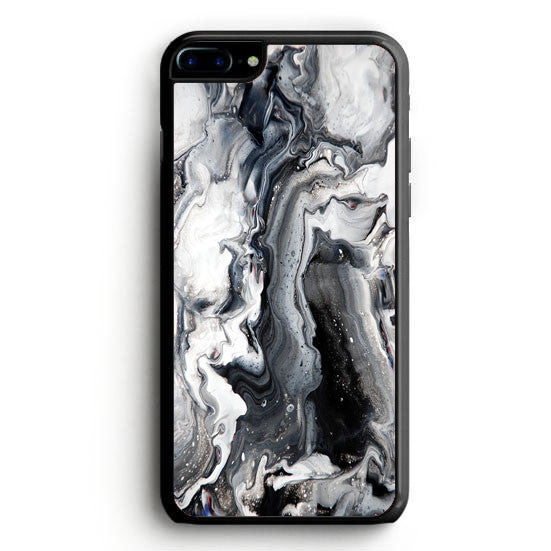 Texture Black White iPhone 6S Plus | yukitacase.com