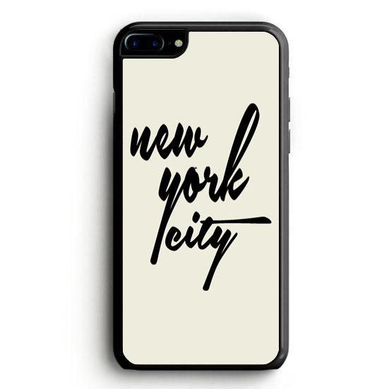 Black Nyc iPhone 7 Case | yukitacase.com