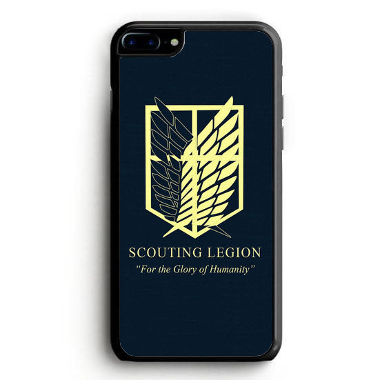 Black Scouting legion iPhone 7 Plus Case | yukitacase.com