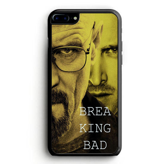 Breaking bad split face Hard iPhone 7 Case | yukitacase.com