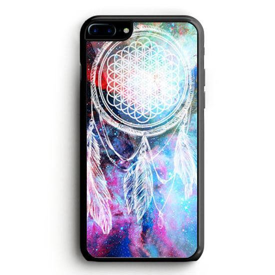 bring me the horizon dream catcher in galaxy nebula iPhone 7 Case | yukitacase.com