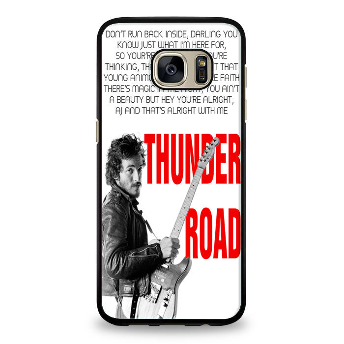 Bruce Springsteen Born To Run Quote Samsung Galaxy S6 Case | yukitacase.com