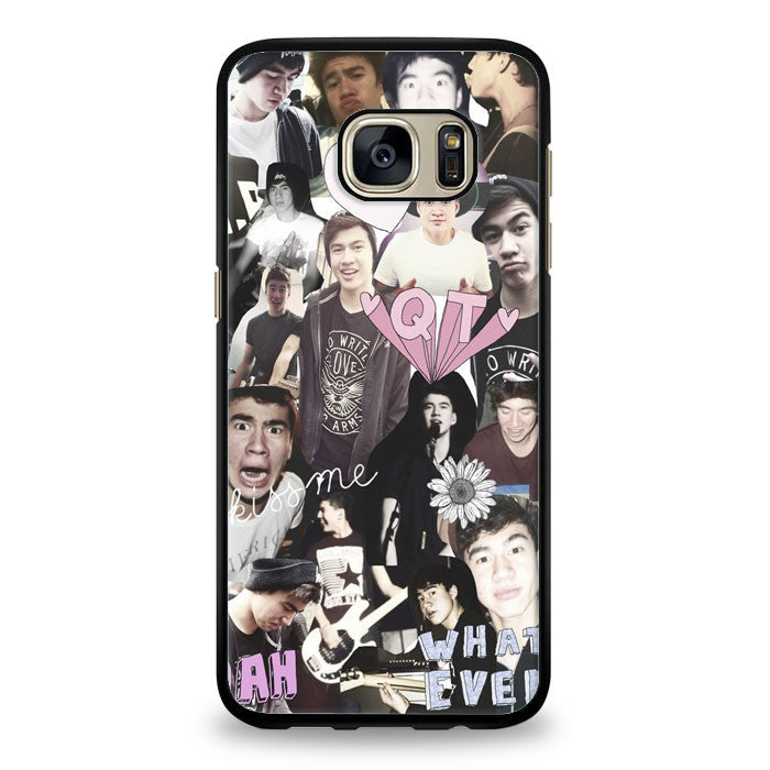 Calum Hood collage Samsung Galaxy S7 Edge Case | yukitacase.com