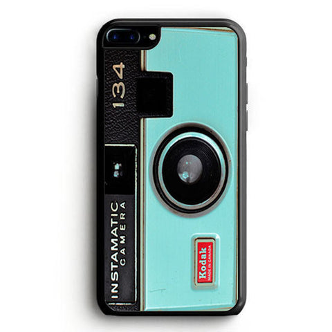 Camera Mint Green Pastel Kodak Instamatic Silicone iPhone 6S Case | yukitacase.com