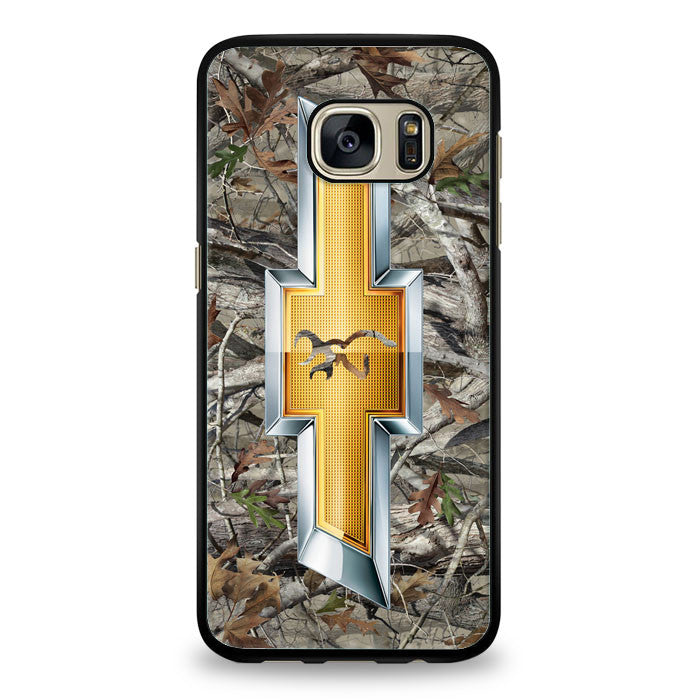 Camo Browning chevrolet Samsung Galaxy S6 Edge Plus Case | yukitacase.com