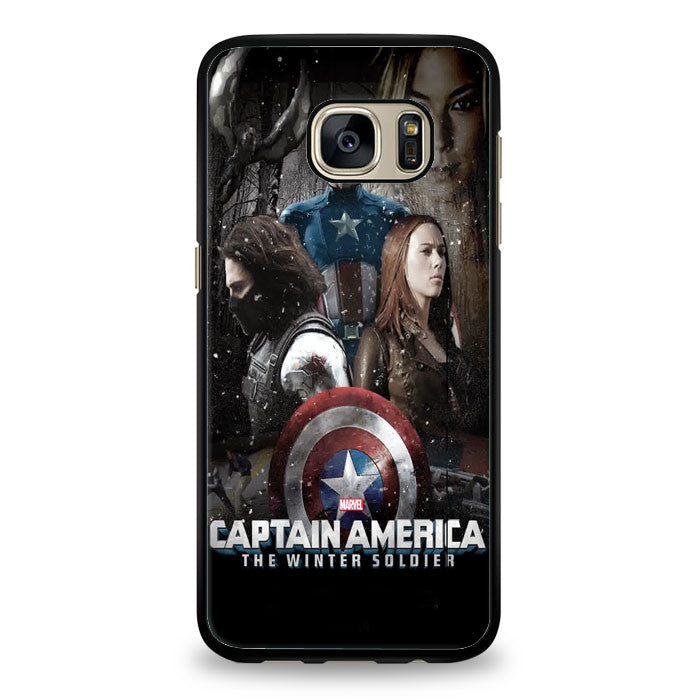 Captain America Samsung Galaxy S6 Edge Plus Case | yukitacase.com