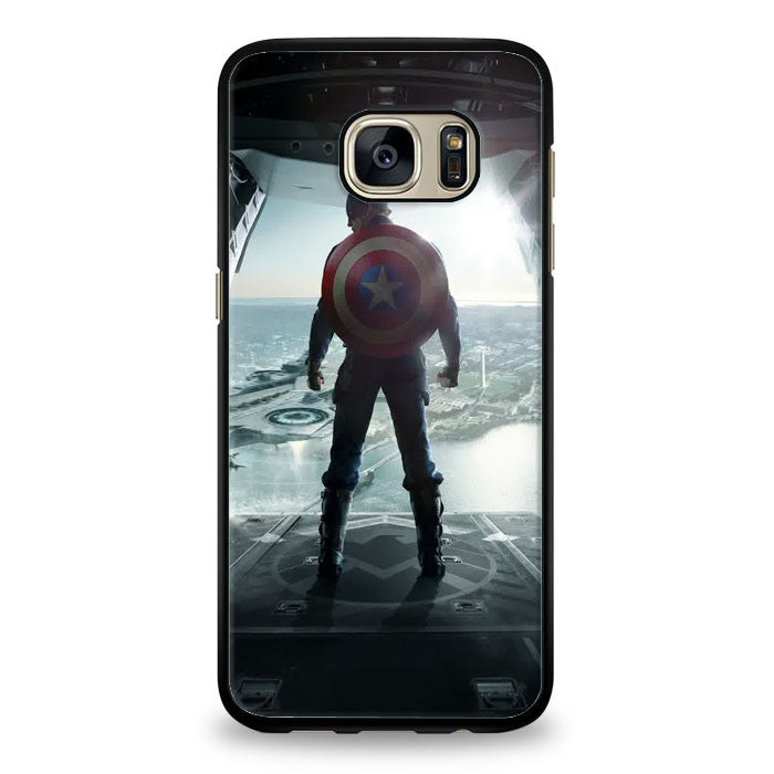 Captain america the winter soldier Samsung Galaxy S6 Edge Plus Case | yukitacase.com